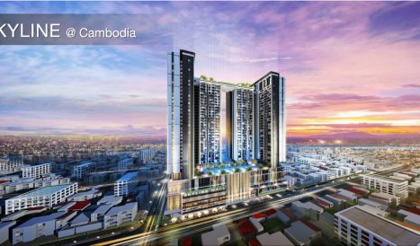 Beautiful Furnished 2-Bedroom Apartment For Sale at Skyline Condominium