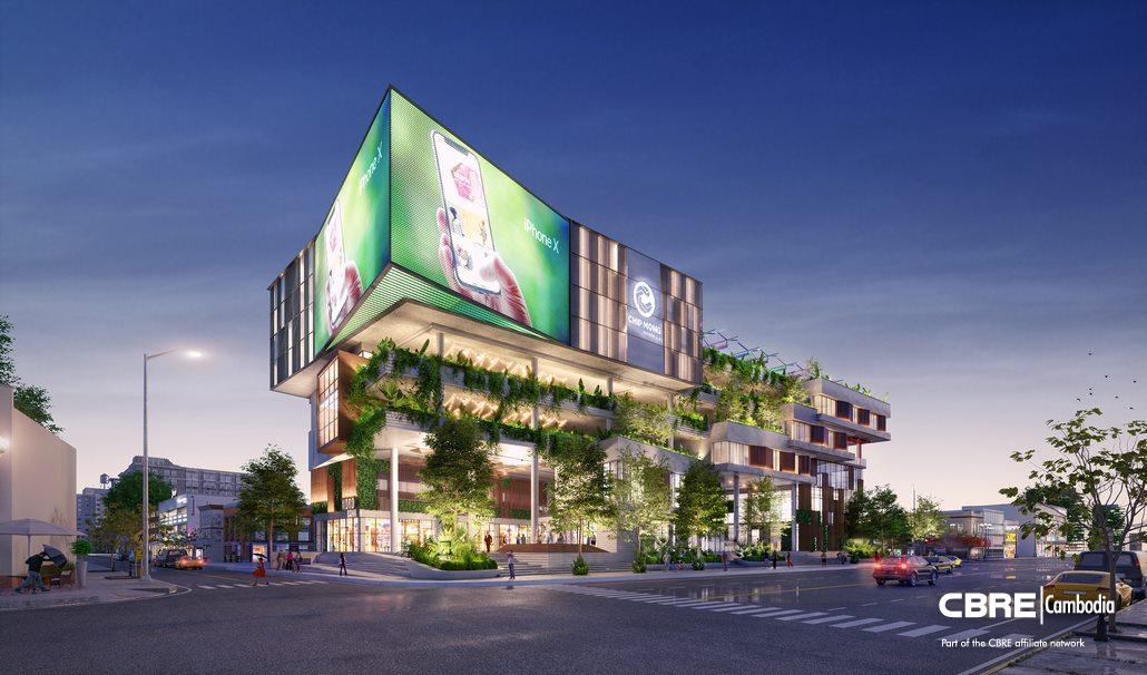 Phnom Penh | Retail Space for Lease at Chip Mong Noro Mall