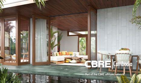 INVESTMENT OPPORTUNITY ,Last offer for deluxe Pool Suites $249,000 USD, AMBER KAMPOT by Japanese Developer