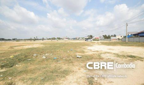 Industrial Land For Rent Close to National Road 4