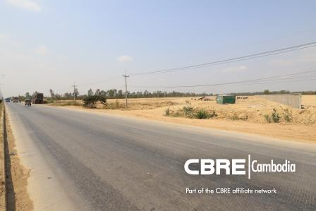 Sen Sok | LARGE FRONTAGE – LAND FOR SALE ALONG RING ROAD KOBSROV