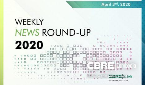 Cover image of weekly property news round-up April 3rd 2020