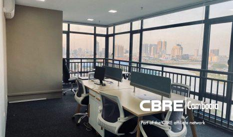 Grade B Office Space for Sell located on Tonle Bassac Area