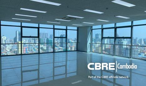 Grade B Office Space For Sale on the 21st Floor