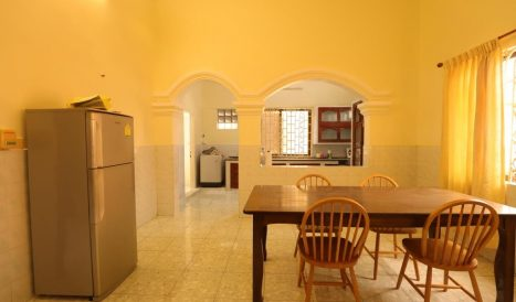Flat house 3bedroom for rent location in Khan 7 Makara