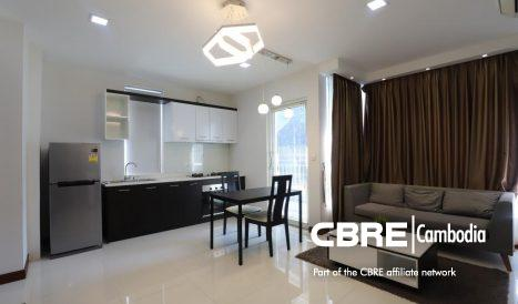 1Bedroom Serviced Apartment for Rent in Tonle Bassac