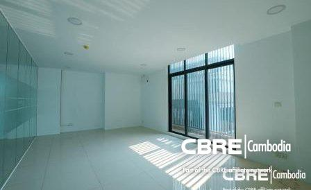 Bright Office Space For Rent on Mao Tse Toung Blvd Close to BKK1