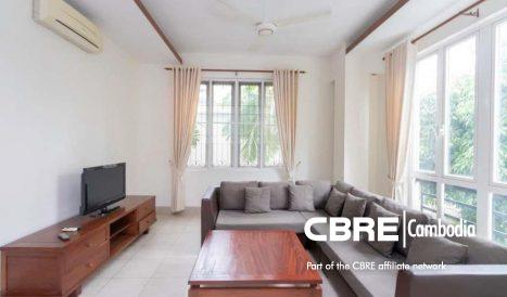 Affordable 2bedroom serviced apartment for rent in BKK1