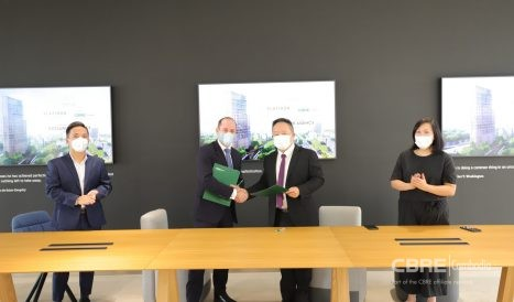 Signing Ceremony for Sole Agency of Flatiron by Meridian
