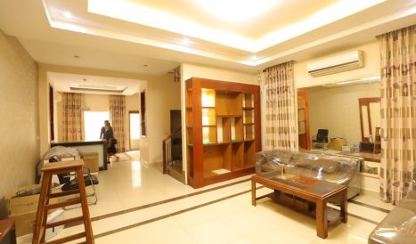 Twin Villa for sale in Borey New World – Teuk Thla